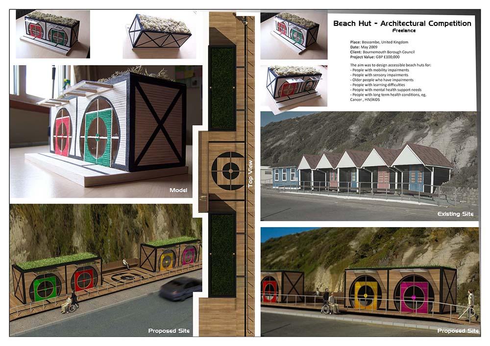 Beach Hut Competition – Boscombe