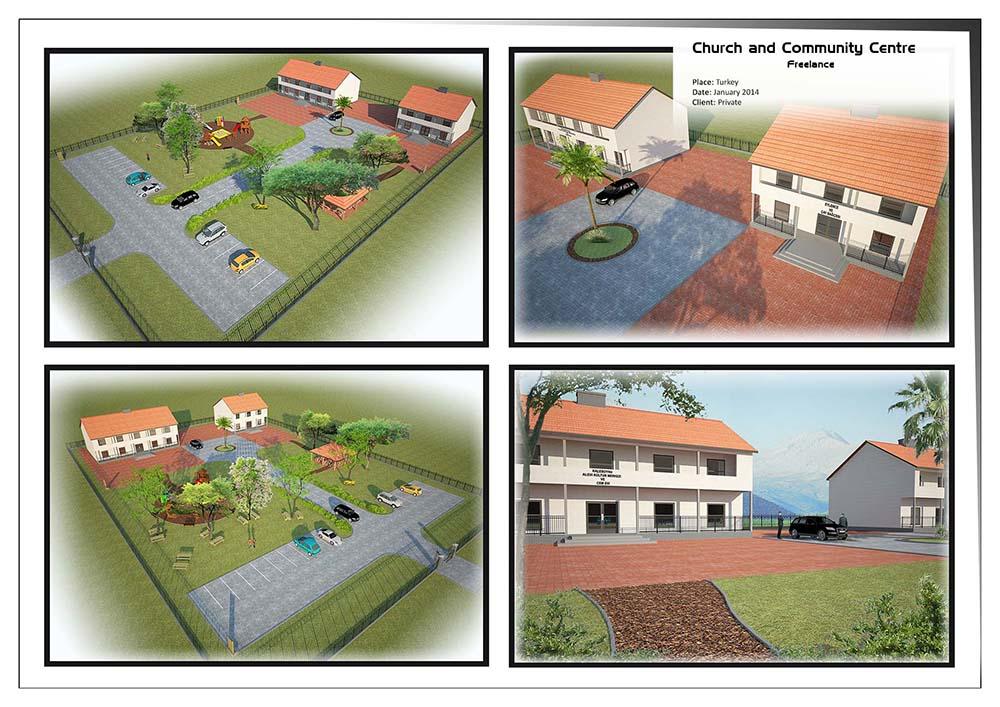 Church and Community Hall – Turkey