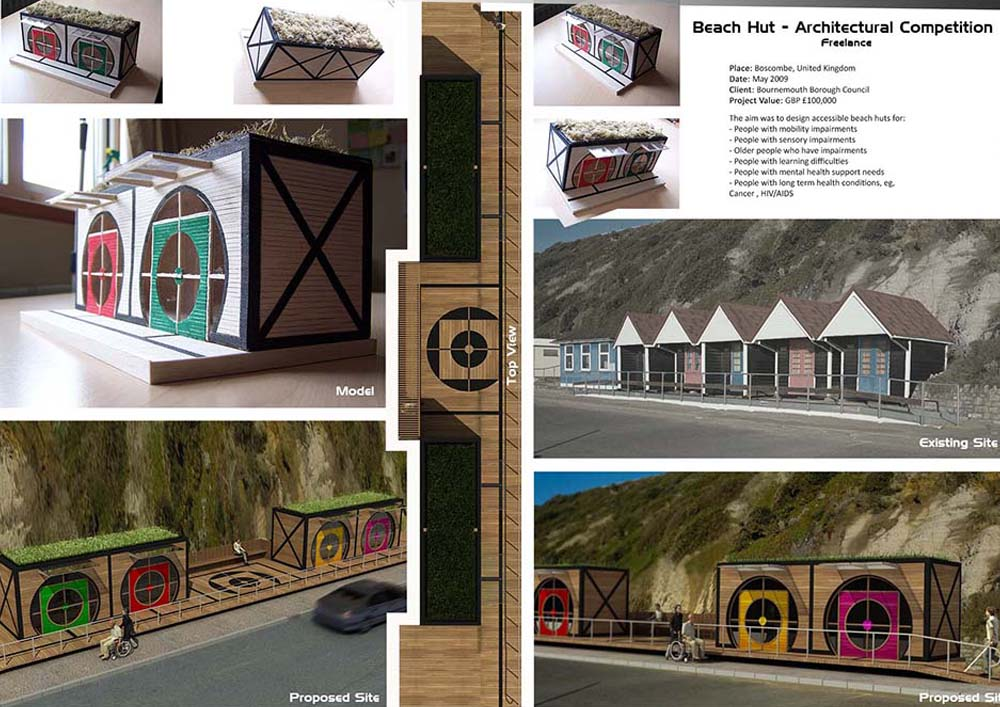 Beach Hut Competition – Boscombe
