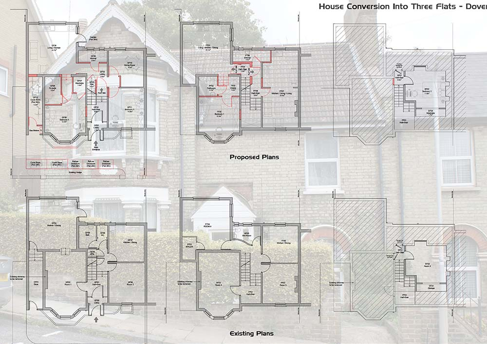 House Conversion into Flats – Dover