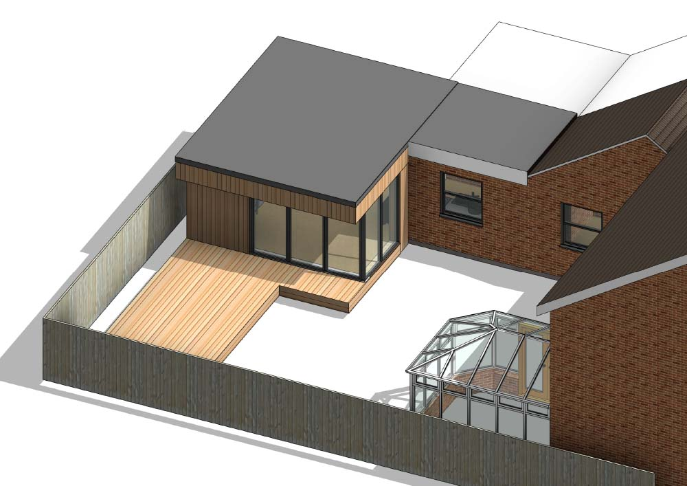 Rear Extension and Garage Conversion